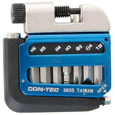 "CONTEC Multifunktionswerkzeug ""Pocket Gadget - PG1"" SB-verpackt, sehr flaches und kompaktes Design,"