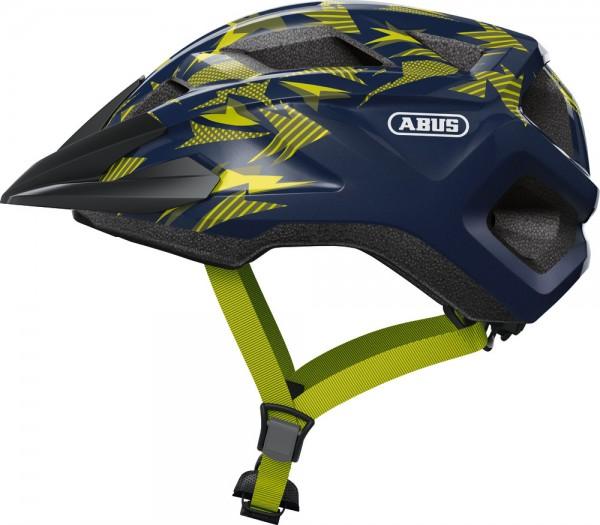 Abus MountZ Fahrradhelm, Kinder- und Jugendhelm, M, midnight blue, AS Größe: M, Kopfumfang: 52 - 57