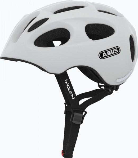 Abus Youn-I Fahrradhelm, Kinder- und Jugendhelm, S, polar matt, AS Größe: S, Kopfumfang: 48 - 54 cm,