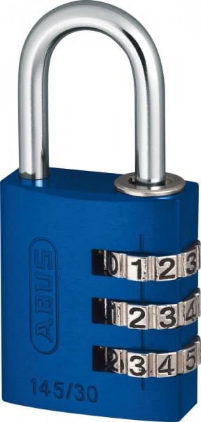ABUS myCode Light Aluminiumkörper 145/30 blau