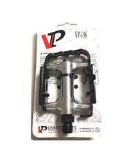 VP Components, Pedale, Trekking, VP465, Maße: 95 x 66 mm, schwarz/silber, CrMo-Achse, Kugellager, m