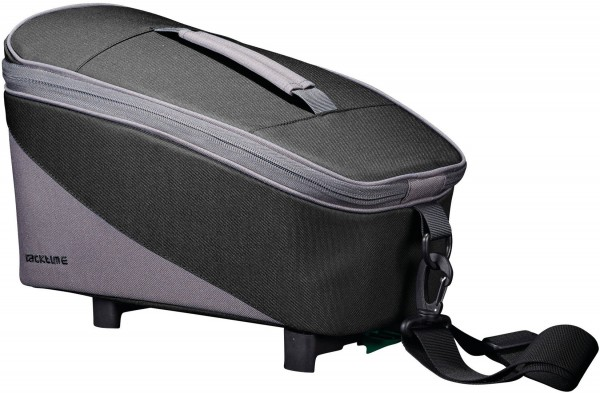 Racktime Talis, trunk bag eco carbon black/stone grey