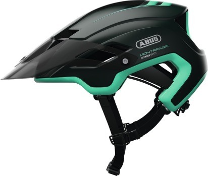 Abus MonTrailer Fahrradhelm, Erwachsenen- und Jugendhelm, L, smaragd green, AS Größe: L, Kopfumfang: