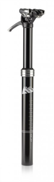 XLC All MTN Teleskopsattelstütze SP-T05 Ø30,9mm, 318mm, sz, 50-120kg, Hub 80mm