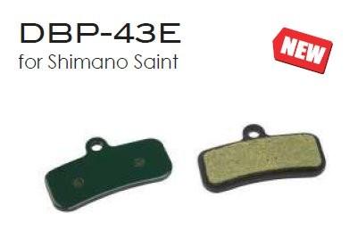 Scheibenbremsbeläge Marwi DBP-43 für SHIMANO Saint Disc Brake organisch, 438043, AS VE 1