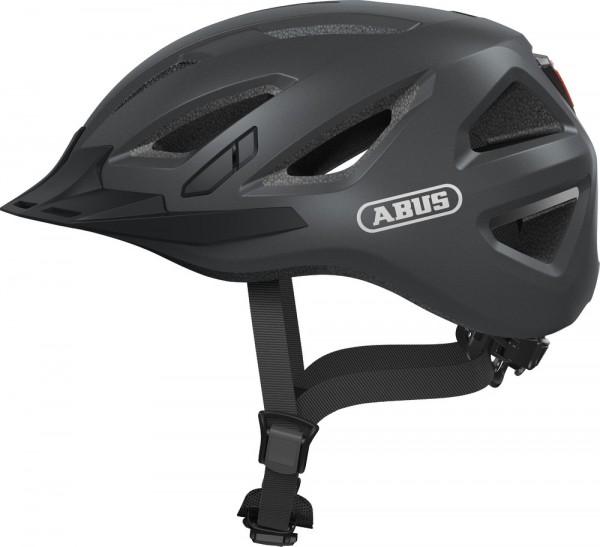 Abus Urban-I 3.0 Fahrradhelm, Erwachsenen- und Jugendhelm, XL, titan AS Größe: XL, Kopfumfang: 61 -