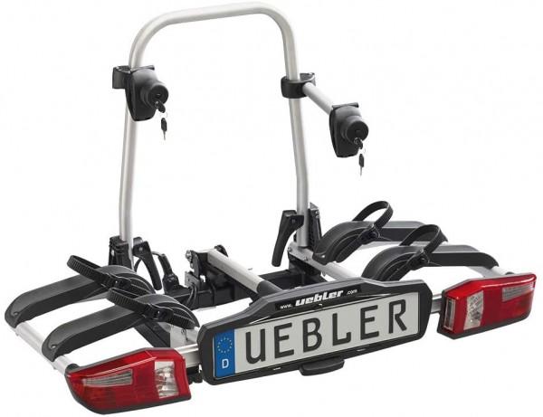 """UEBLER Heckträger """"P22 S"""" Für 2 Fahrräder, max. 60kg Zuladung, 14kg Eigengewicht Neue abnehmbare Abs"""