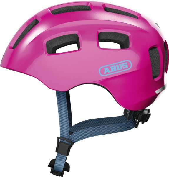 Abus Youn-I 2.0 Fahrradhelm, Kinder- und Jugendhelm, S, sparkling pink, AS Größe: S, Kopfumfang: 48