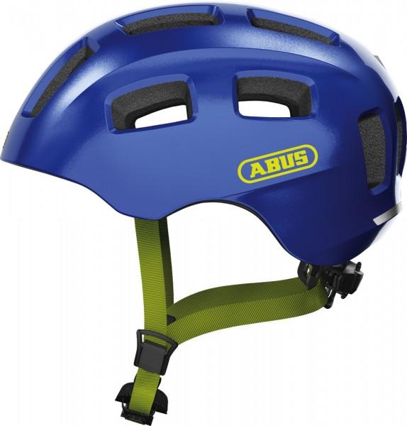 Abus Youn-I 2.0 Fahrradhelm, Kinder- und Jugendhelm, M, sparkling blue, AS Größe: M, Kopfumfang: 52