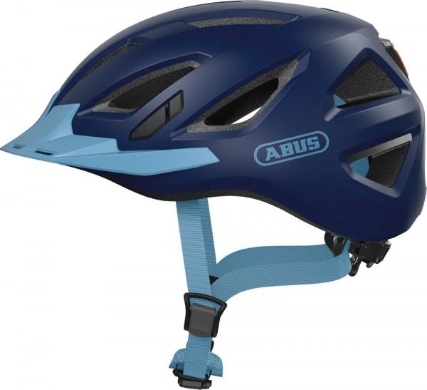 Abus Urban-I 3.0 Fahrradhelm, Erwachsenen- und Jugendhelm, L, core blue AS Größe: L, Kopfumfang: 56
