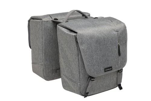 "NEW LOOXS Doppeltasche ""Nova Double"" Volumen: 32l (2x 16l), Maße (LxBxH): 35x15x35cm Aus wasserabwe"