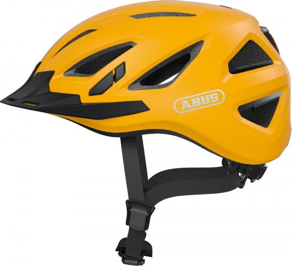 Abus Urban-I 3.0 Fahrradhelm, Erwachsenen- und Jugendhelm, M, icon yellow AS Größe: M, Kopfumfang: 5