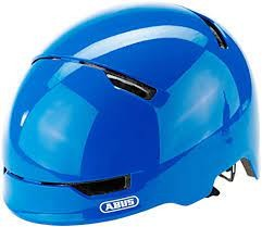 Abus Scraper Kid 3.0 Fahrradhelm, Kinder- und Jugendhelm, M, shiny blue, AS Größe: M, Kopfumfang: 54
