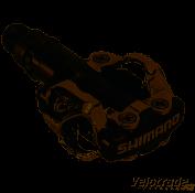 Shimano PDM520 XC PEDAL SCHWARZ E-PDM520L
