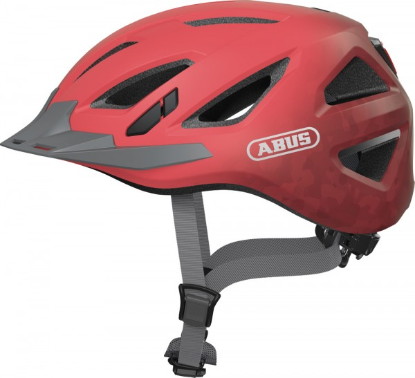 Abus Urban-I 3.0 Fahrradhelm, Erwachsenen- und Jugendhelm, L, living coral AS Größe: L, Kopfumfang: