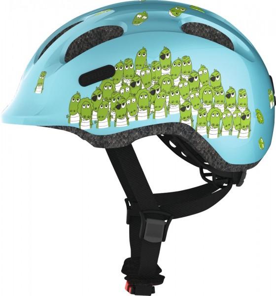 Abus Smiley 2.0 Fahrradhelm, Baby- und Kleinkinderhelm, S, blue croco, AS Größe: S, Kopfumfang: 45 -