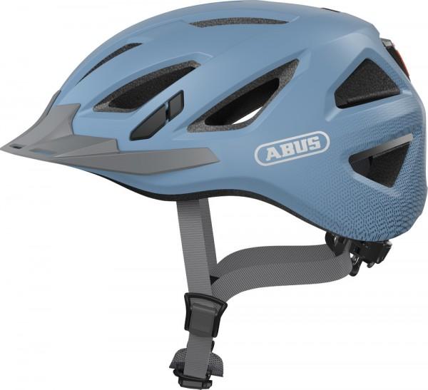 Abus Urban-I 3.0 Fahrradhelm, Erwachsenen- und Jugendhelm, L, glacier blue AS Größe: L, Kopfumfang: