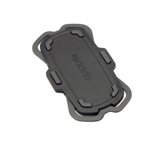 Klickfix PhonePad Quad Mini, Halterung f. alle gängigen Smart-Phones, lose 6x3,8x11cm, für Smartphon